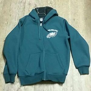 Eagles Zip Up Jacket